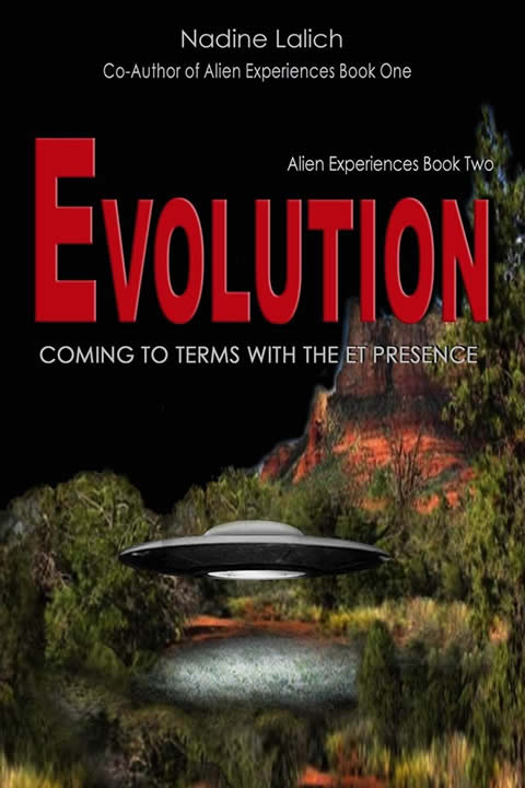 Book cover 'Evolution' by Nadine Lalich