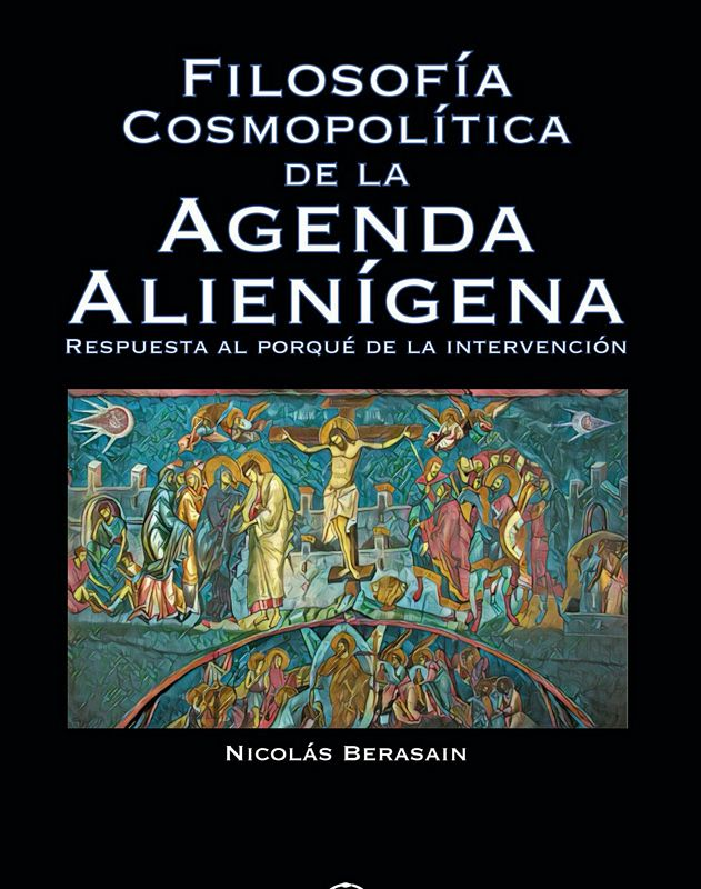 Book Cover Cosmopolitical Philosophy of the Alien Agenda